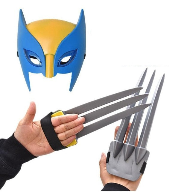 X-Men Wolverine Action Figure Claws & Mask