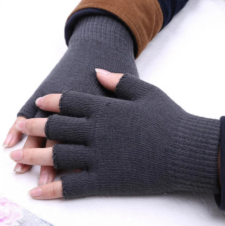 Women's Knitted Fingerless Gloves