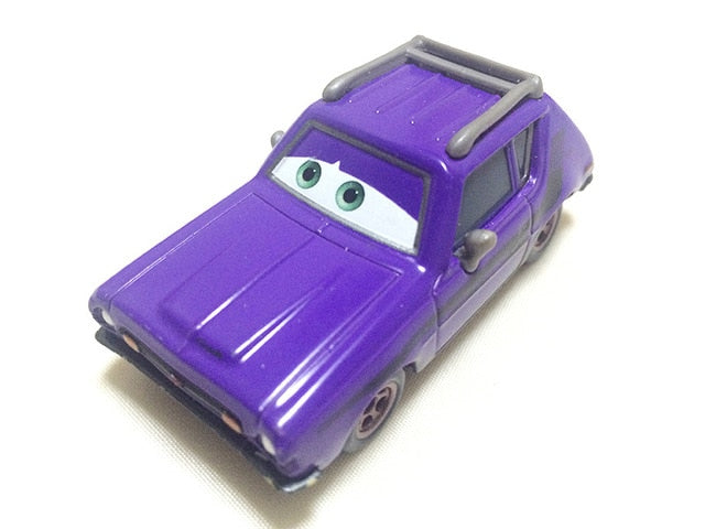 Disney Pixar Cars 2 Grem Professor Z Miles Andy Acer Wingo Jerome Boost 1:55 Diecast Metal Alloy Model Toy Car Gift For Kids