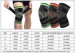 Professional 3D Weaving Pressurization Sport Knee Brace