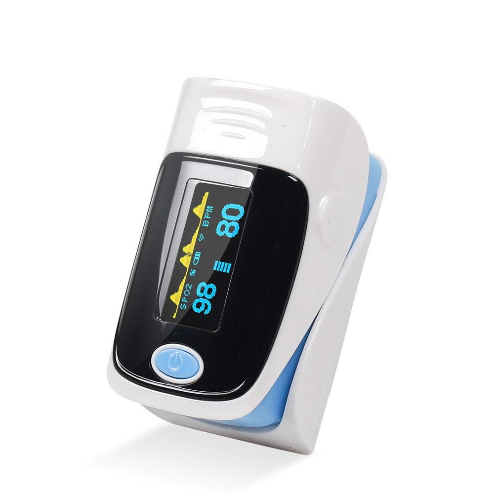Portable Wireless Medical Fingertip Pulse Health Monitor
