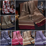 Men's Royal Luxurious Silk Jacquard Business Scarf