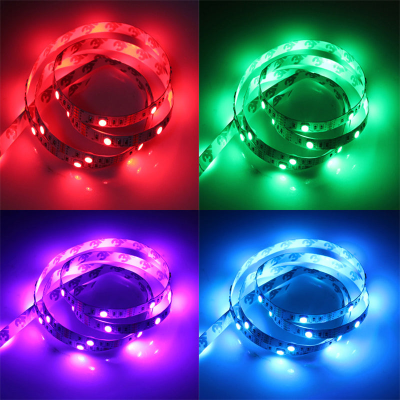 USB Gadget LED Strip Light Backlight 5V Waterproof RGB SMD 5050/3528 LED Ribbon Tape Light for Computer PC Decoration Lighting