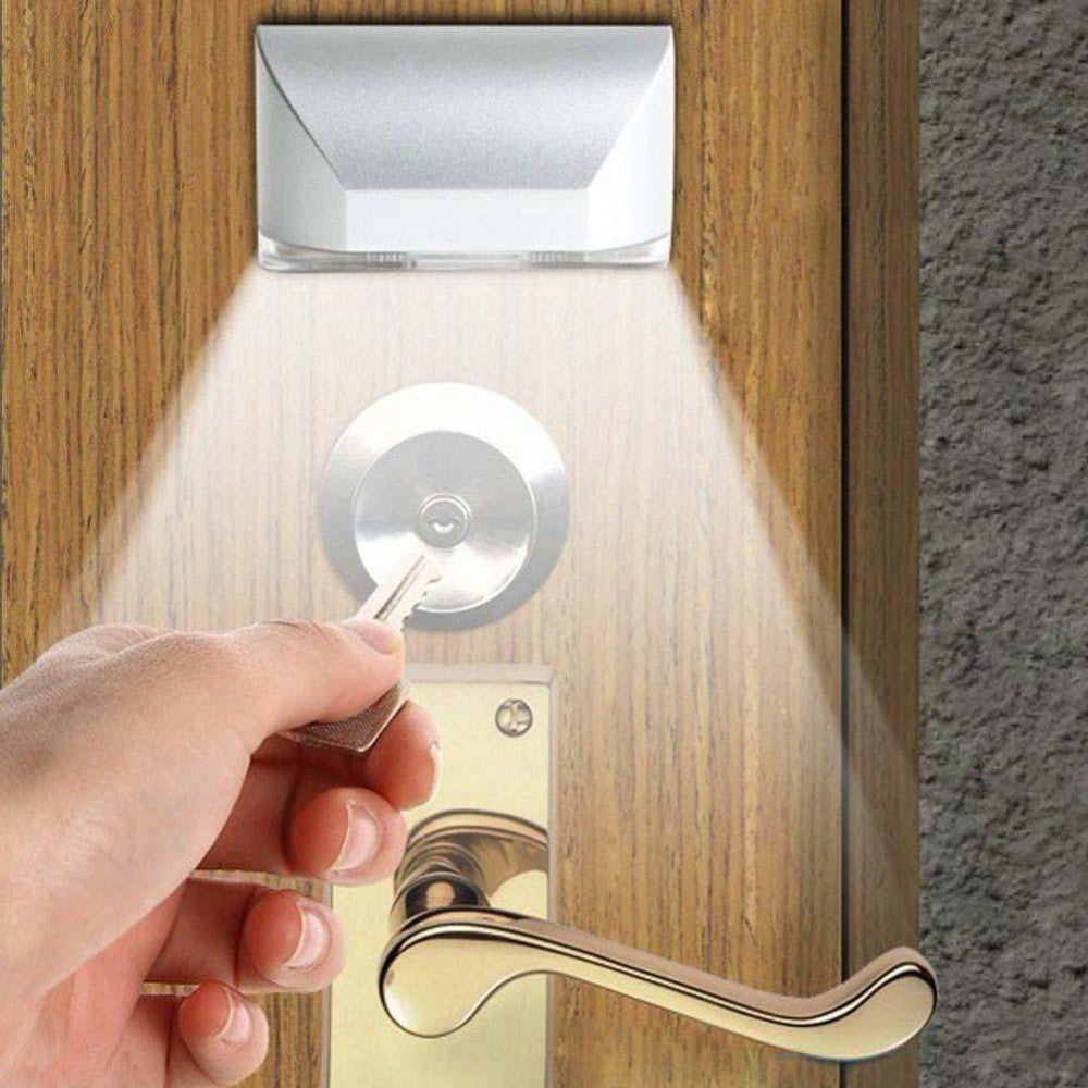 Automatic Motion Detector LED Door Keyhole Night Light