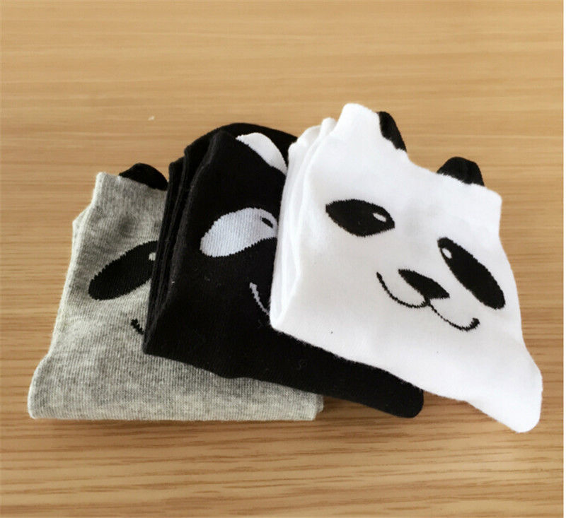 1 Pair: Infant Cartoon Panda Socks