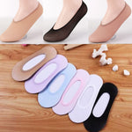 10 Pairs: Women's Invisible Footsies Ballerina Socks