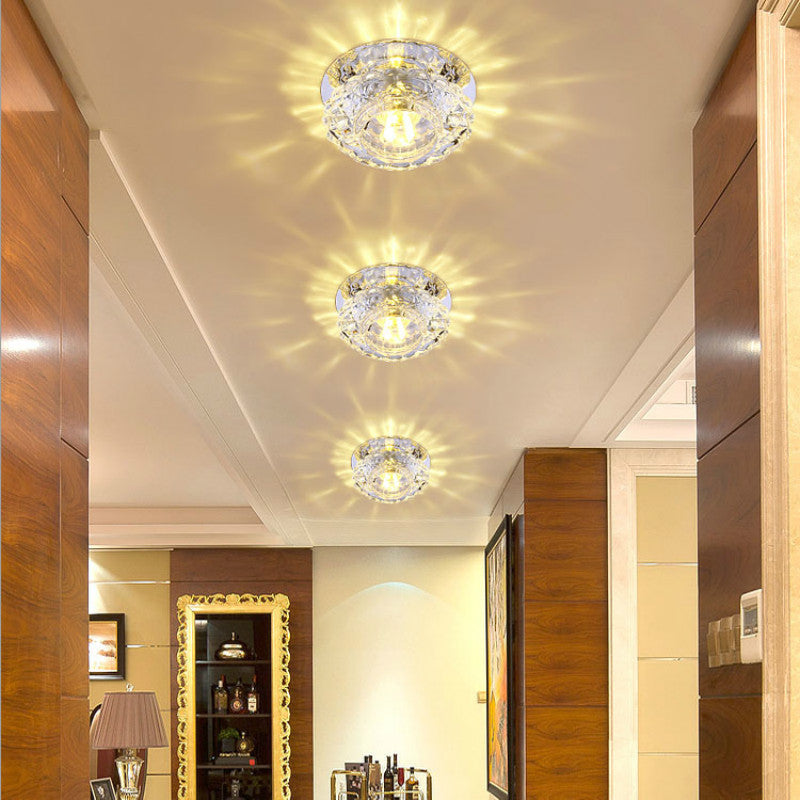 Crystal Lamp 3 Watt LED Ceiling Lights