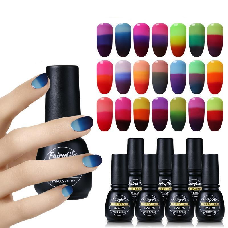 Thermal Color Changing Nail Gel Polish