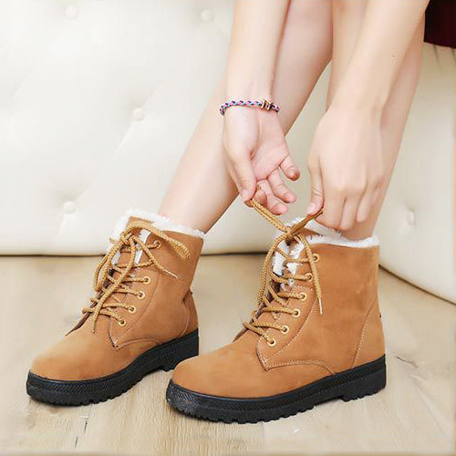 Light brown boots