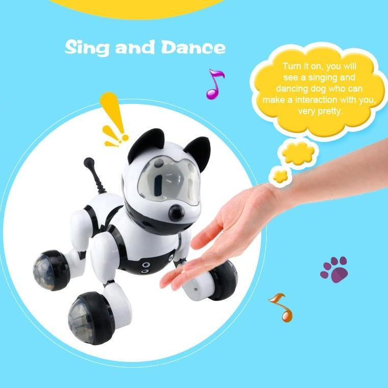 Smart Dancing Robot Dog with Voice Control