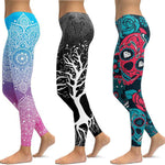 Women's Unique Print Fitness Workout Yoga Leggings