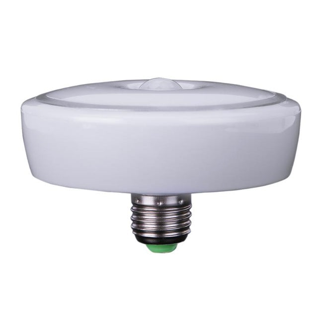 PIR Motion Sensor Lamp E27 AC85~265V Led Bulb 12W PIR Infrared Motion Sensor Modern Aluminium PC LED Home Ceiling Light Lamp