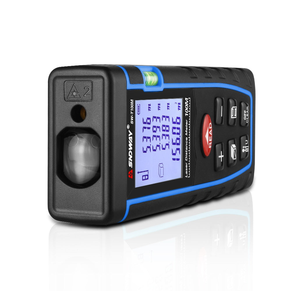 SNDWAY Professional Electric Laser Distance Measuring Tool