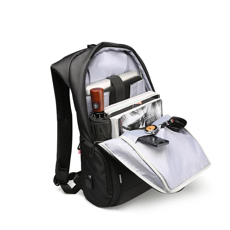 Anti-Theft USB Charger Port Laptop Backpack