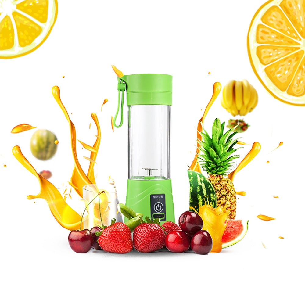 Multi-Purpose Portable USB Rechargeable Blender Bottle