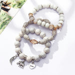 Women's Bohemia Fashion Love Bracelets & Bangles Set