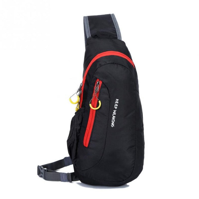 Outdoor Waterproof Crossbody Chest Hiking Bag