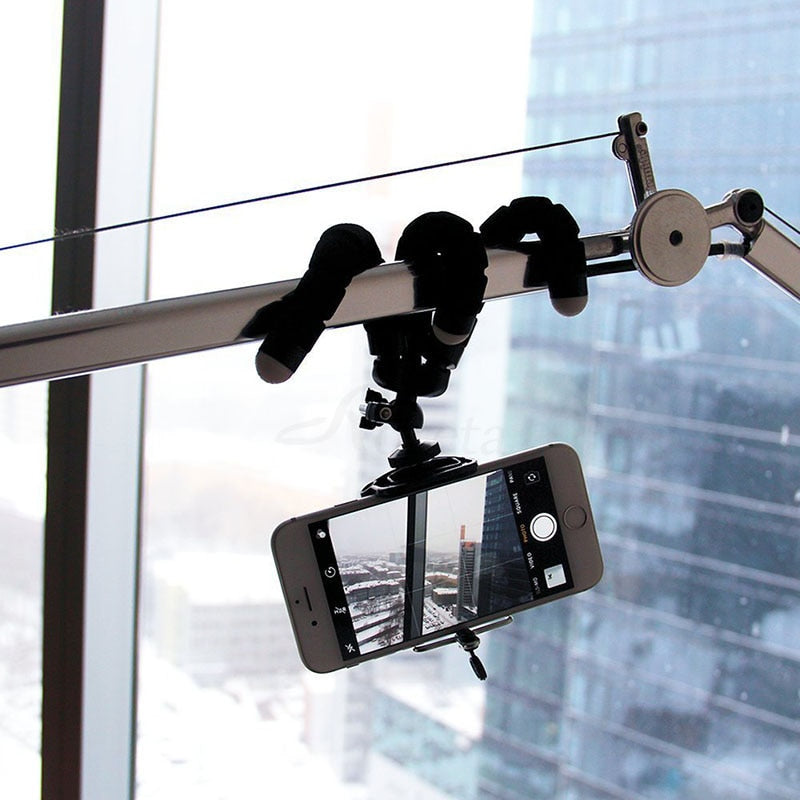 Flexible Mini Bracket Cell Phone Tripod with Bluetooth Remote Shutter