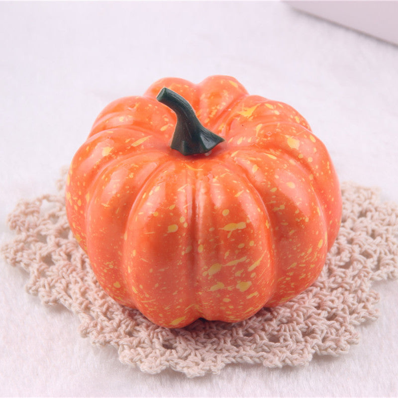 Mini Artificial Halloween Pumpkin Decorations