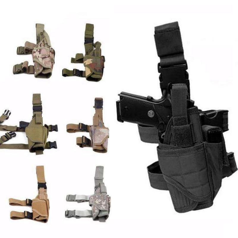 Color Variety of Universal Adjustable Tactical Gun Leg Holster