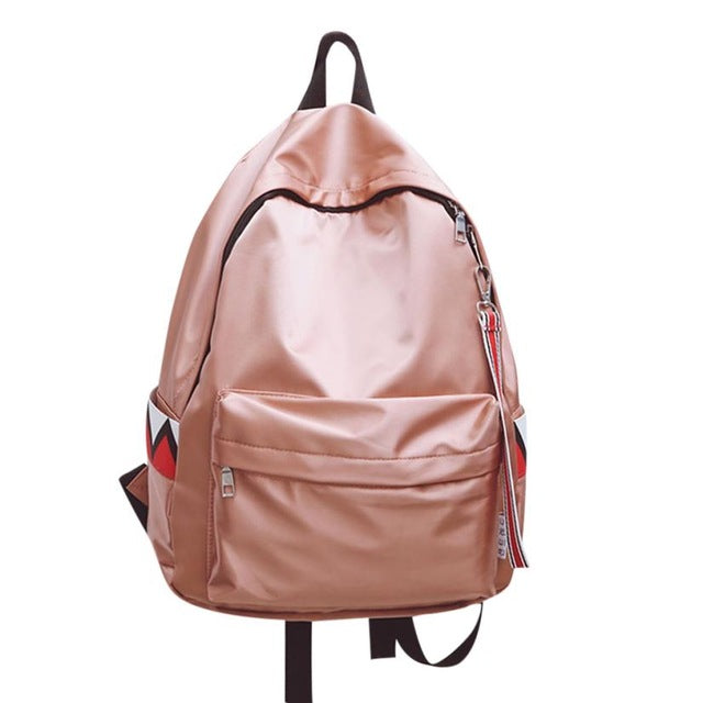 Oxford Fashion Waterproof Large Capacity School Backpack