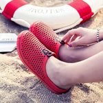Unisex Casual Breathable Beach Slip-Ons