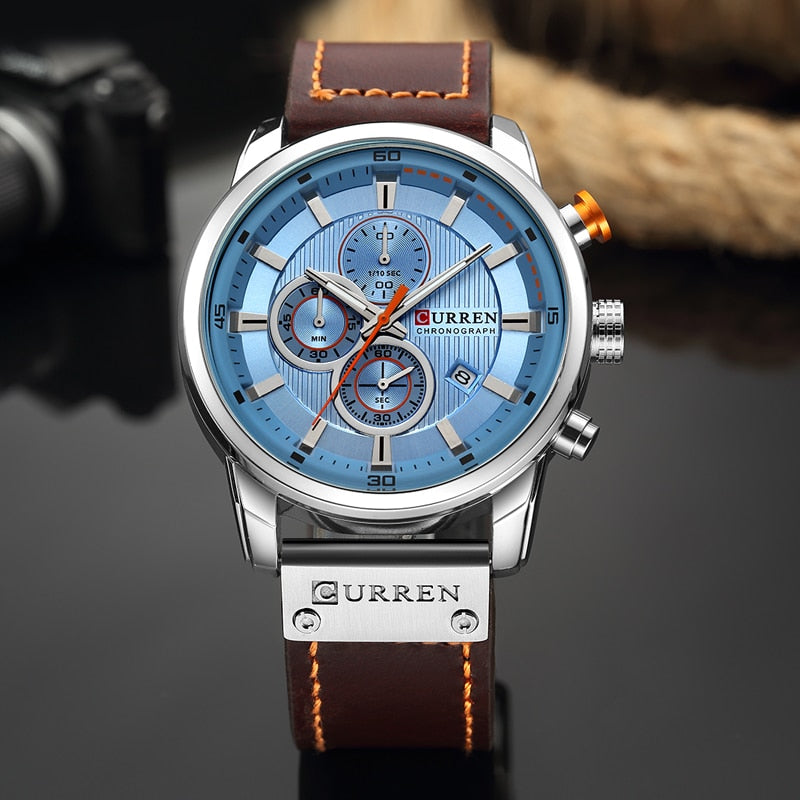 Men's Top Luxury Fashion Designed Chronograph Wrist Watch