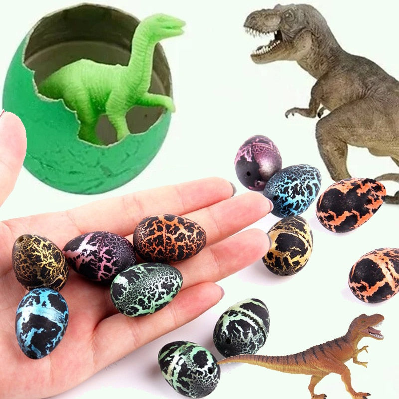 10 Pack: Water Hatching Dinosaur Eggs