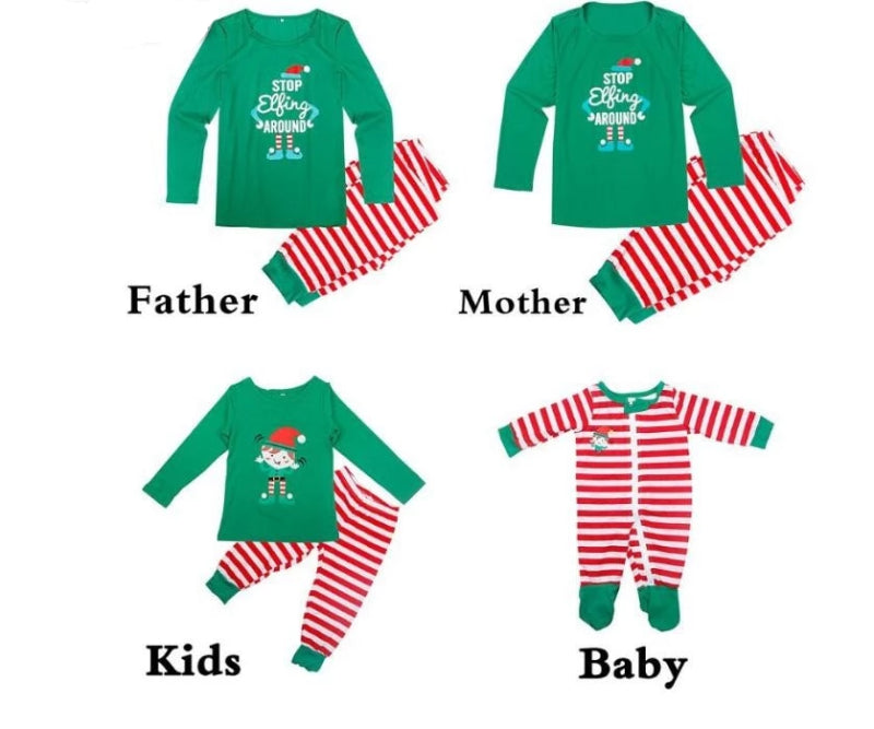 Kids Sleepwear Stripe Pajama Sets