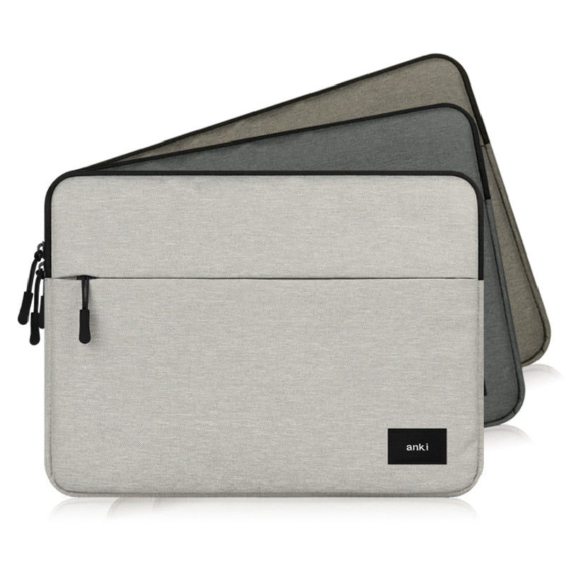 Simple Elegance Laptop Zipper Carry Sleeve