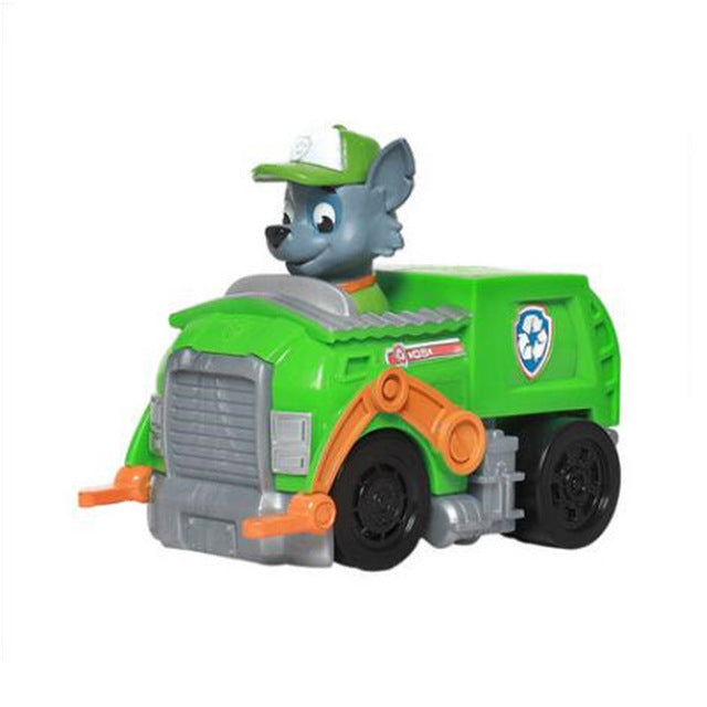Paw Patrol dog Puppy Patrol car Patrulla Canina toys Action Figures Model  Toy Chase marshall ryder Vehicle Car kids toy Genuine