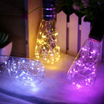 Colorful Flashing LED Wire String Light Bulb