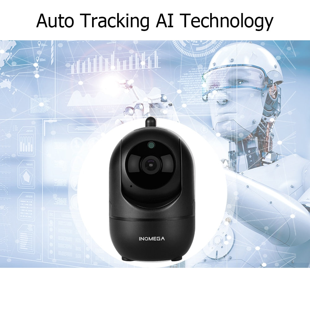 1080P HD Intelligent Wireless IP Auto-Tracking Security Camera