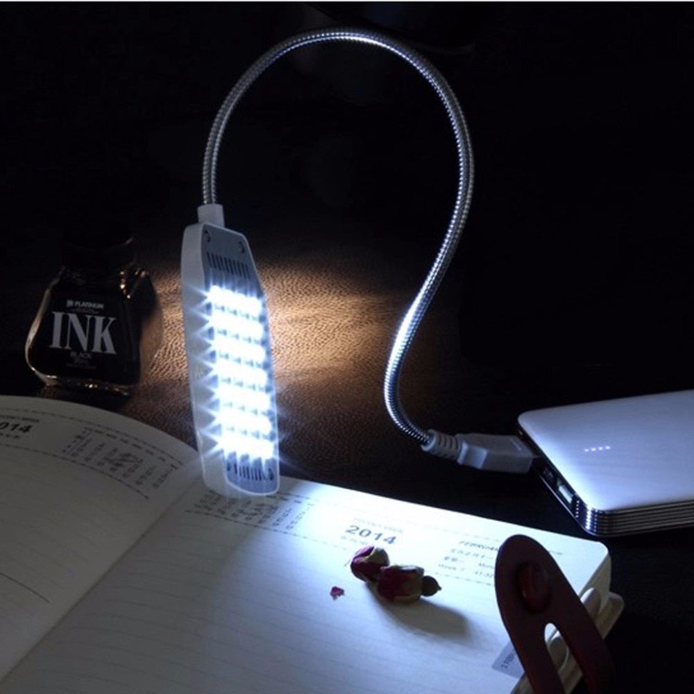 Flexible USB Powered LED Desktop Lamp