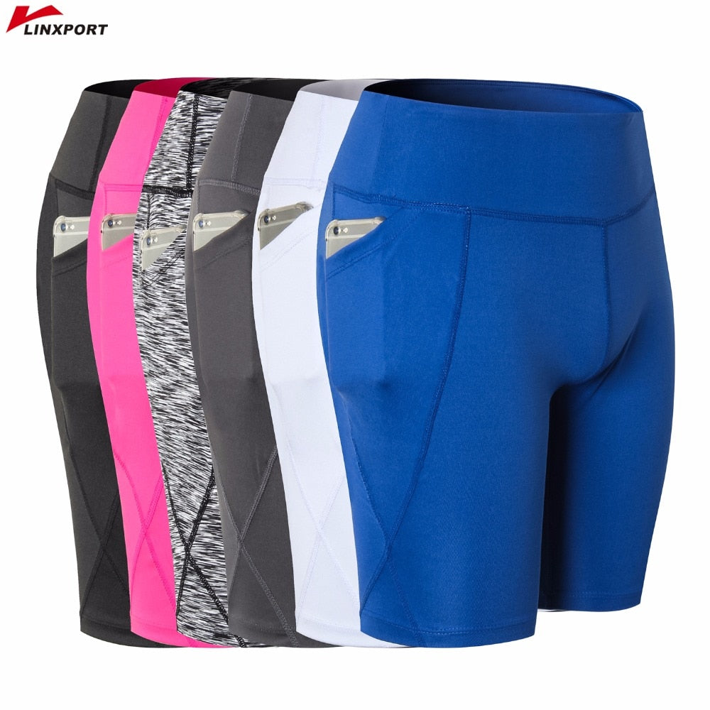 Women's  Cycling Dry Fit Yoga Shorts
