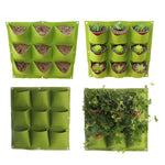 Multi-Pocket Hanging Wall Garden