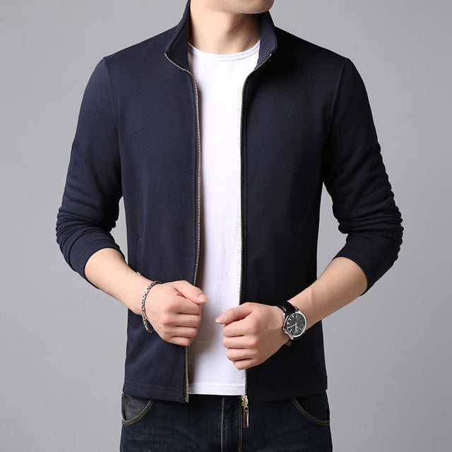 Men's Urban Zip-Up Cardigan Windbreaker