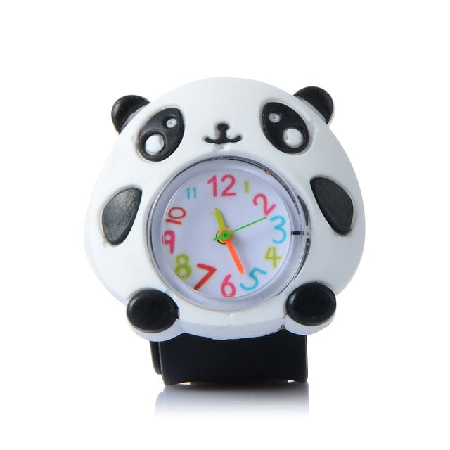 Kid's Cartoon Waterproof Animal Watch