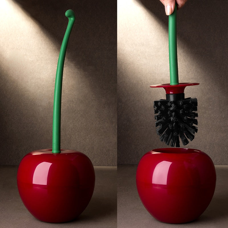 Creative Cherry Shaped Toilet Brush