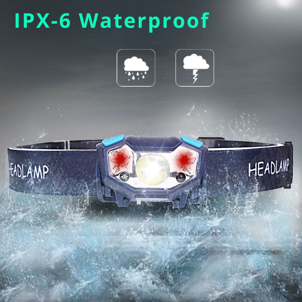XPE LED 6000 Lumens 5 Modes Headlamp Torch Light