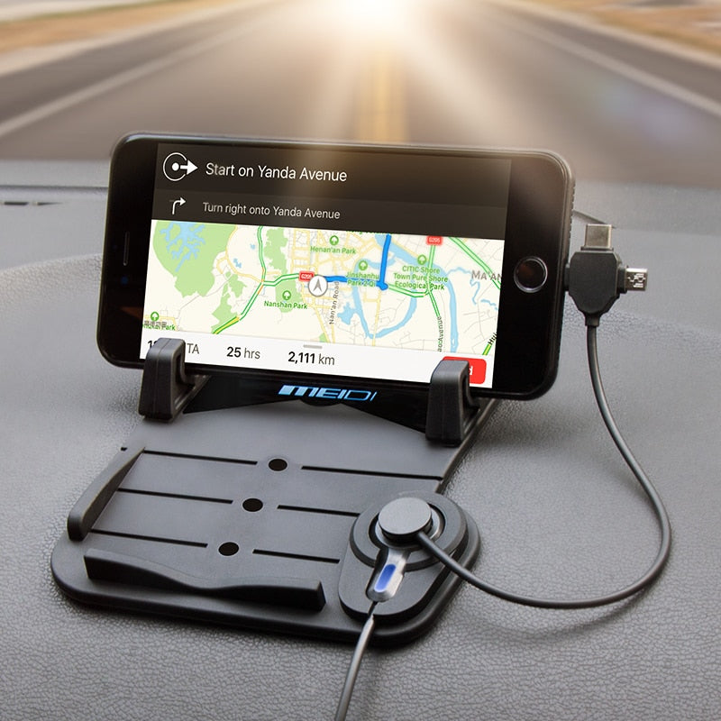 Cell Phone Car Mount with Phone Charger for Android & iphone