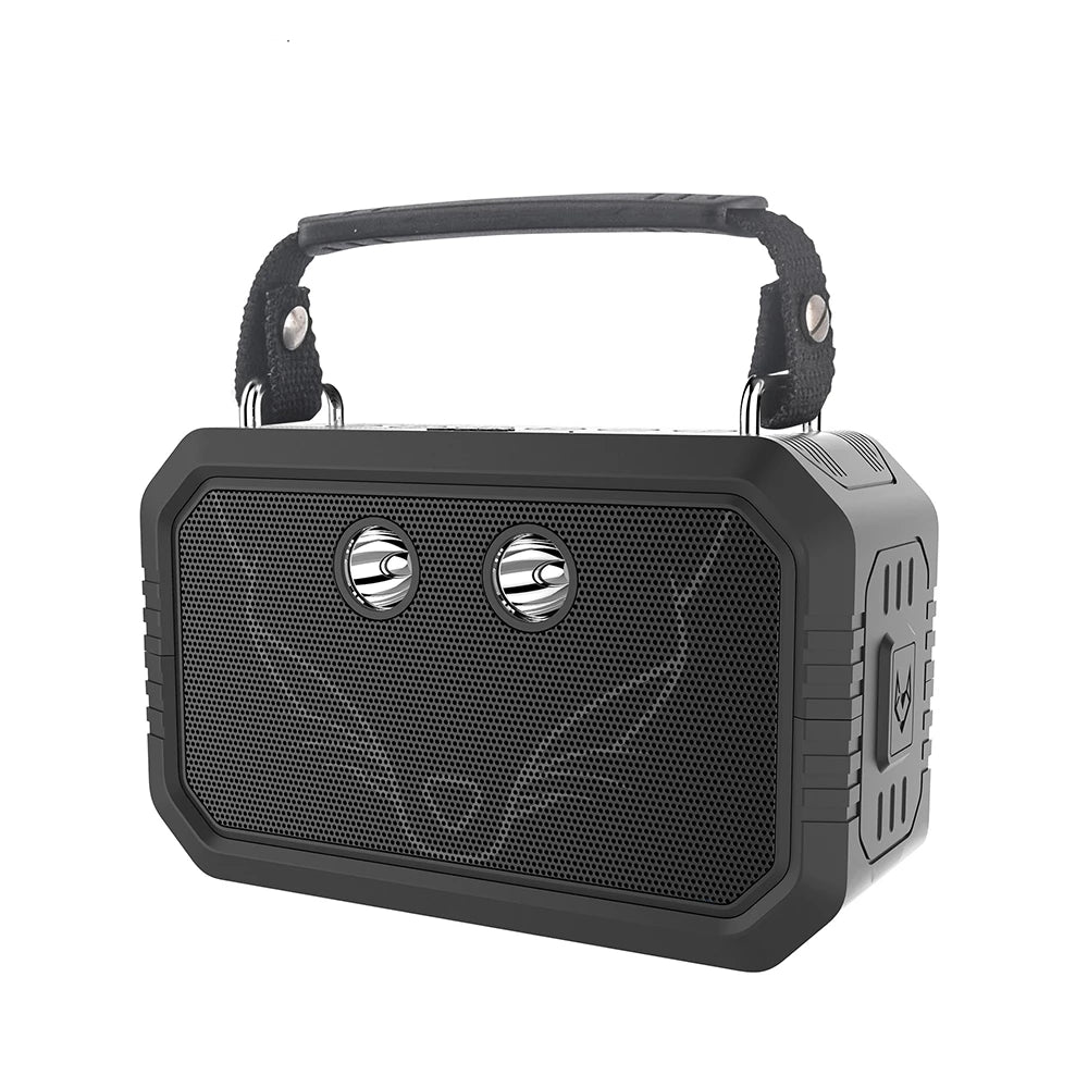 Outdoor Bluetooth V4.0 Speaker Waterproof IPX6 Portable Wireless Speaker