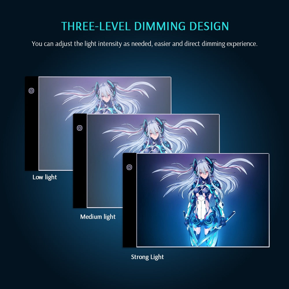 Digital LED Graphic Design Tracing Board