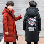 Children's Thick Hooded Down Cotton Jacket