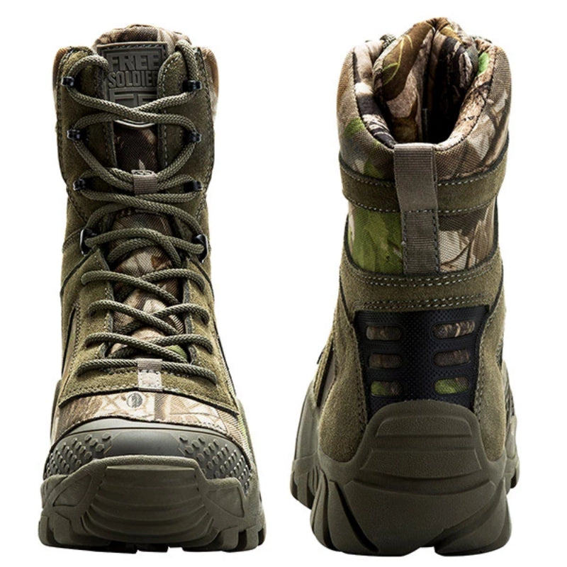 Wolf Brown Outdoor Camping Tactical Hiking Boots