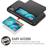 Business Wallet Slider Slot iPhone Case