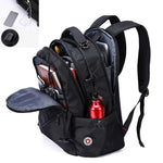 Anti-Theft Waterproof USB Charging Swiss Backpack