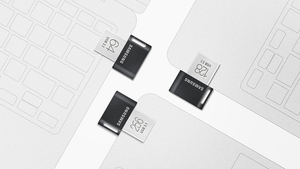 Samsung Mini USB 3.1 Pendrive 32/64/128/254 GB Memory Flashdrive