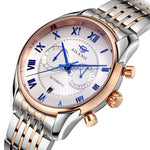 Men's Luxurious Chronographic Self-Winding Wrist Watch