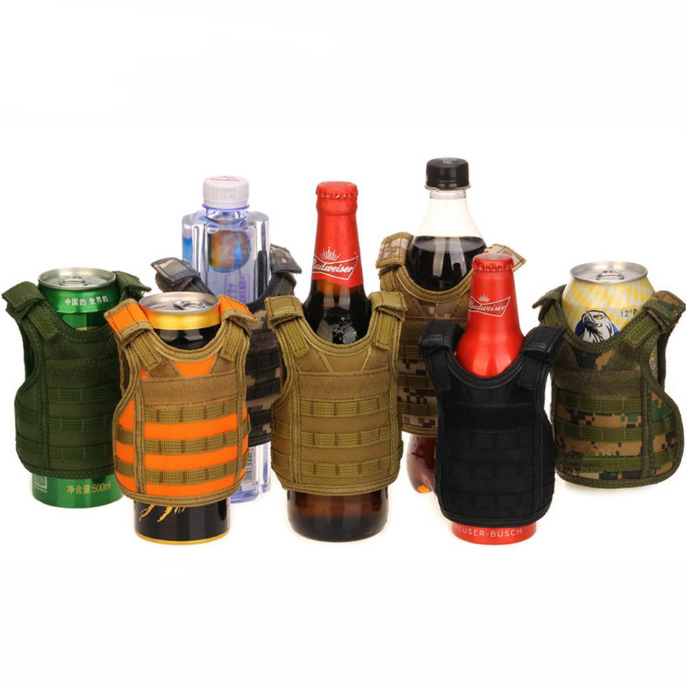Tactical Miniature Military Vest Drink Coolers